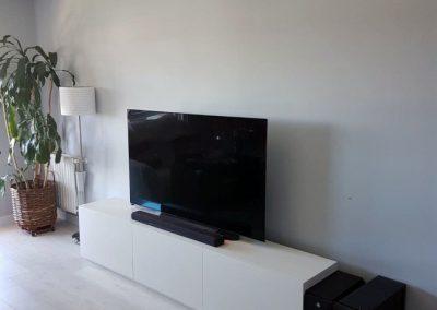 Mueble de televisión fabricado por Serforma