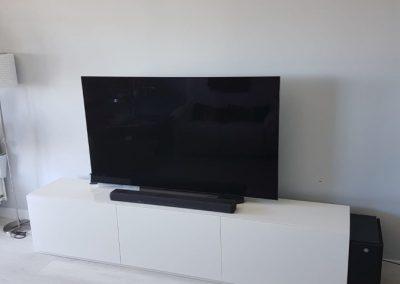 Mueble de televisión artesano fabricado por Serforma